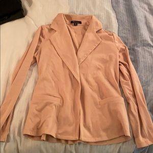 New blush pink f21 blazer jacket